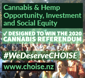 CHOISE model is designed to win the cannabis referendum.